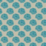 Vector Colorful abstract retro pattern 09 Stock Images