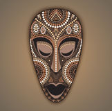 Vector colorful african mask. Stock Photography