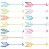 Vector Colorful Arrows Stock Photo