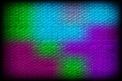 Vector colorful background with grungy texture overlay on top of Royalty Free Stock Images