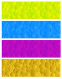 Vector colorful banners Royalty Free Stock Photo