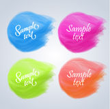 Vector colorful banners Stock Image