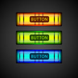 Vector colorful buttons. Royalty Free Stock Photography