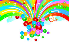 Vector colorful design Stock Image