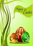 Vector Colorful Easter Eggs Stock Photography