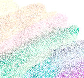 Vector Colorful explosion of confetti. Stock Photography