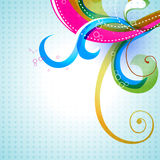 Vector colorful floral Royalty Free Stock Photography