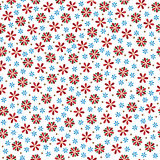 vector colorful flowers seamless pattern. flowers background Stock Photography