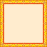 Vector colorful frame. Place for text.Vector illustration. Royalty Free Stock Photos