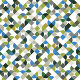 Vector colorful geometric background, bright abstract seamless p Royalty Free Stock Photos