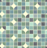 Vector colorful geometric background, squared pockmarked abstrac Royalty Free Stock Photos