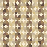 Vector colorful geometric background, vintage abstract seamless Royalty Free Stock Photography