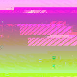 Vector colorful glitch art background Royalty Free Stock Photos