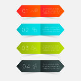 Vector colorful info graphics Royalty Free Stock Photo