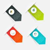 Vector colorful info graphics Royalty Free Stock Image