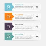 Vector colorful info graphics for your business presentations. C Royalty Free Stock Photography