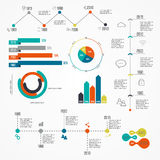 Vector colorful info graphics for your business presentations. Can be used for info graphics, graphic or website layout vector, numbered banners, diagram Stock Images