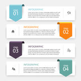 Vector colorful info graphics for your business presentations. Royalty Free Stock Image