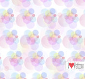 Vector colorful modern pattern. Stock Images