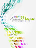 Vector colorful mosaic pattern design Stock Image