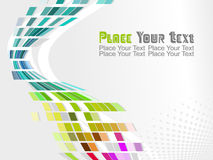 Vector colorful mosaic pattern design Royalty Free Stock Images