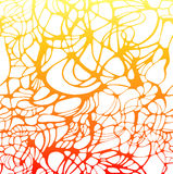 Vector colorful net texture. Abstract gradient red background. Royalty Free Stock Image