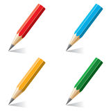 vector colorful pencils Stock Image