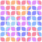 Vector colorful seamless lattice pattern Royalty Free Stock Image