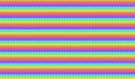 Vector colorful seamless ripples pattern Stock Photos