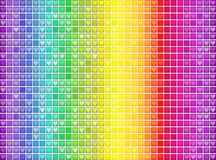 Vector colorful spectral mosaic pattern background Royalty Free Stock Photography