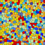 Vector colorful stained glass texture. Abstact background 1 stock illustration