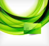 Vector colorful swirl motion design concept Royalty Free Stock Image