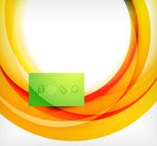 Vector colorful swirl motion design concept Stock Photo
