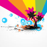 Vector colorful tree abstract Stock Photo