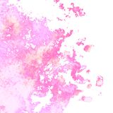 Vector watercolor background. Vector colorful watercolor texture background, abstract illustration Stock Images