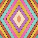 Vector colorful wooden background Royalty Free Stock Images