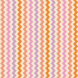 Vector colorful zig zag background Stock Image