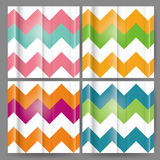 Vector Colorful Zig Zag Seamless Pattern Stock Photo