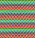 Vector colorful,zigzag Stock Photography