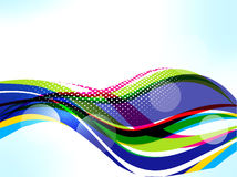 Vector Colorfull Wave Background Royalty Free Stock Photography