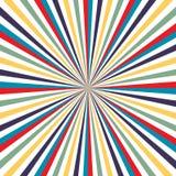 Vector colorido del vintage de la televisión del fondo del arco iris La TV irradia el vector eps10 del fondo ilustración del vector