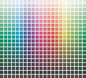Vector colors library royalty free illustration