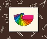 Vector colour guide, business concept Stock Photo
