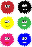 Vector Coloured Emotions Stock Photography