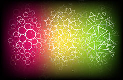 Vector colourful abstract background Royalty Free Stock Photography