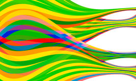 Vector Combined Abstract Lines Stock Image