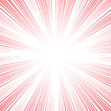 Vector comic book speed lines background Royalty Free Stock Photo