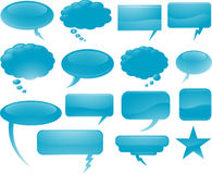 Vector communication bubbles Royalty Free Stock Photo