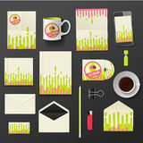 Vector company corporate style template design, Royalty Free Stock Photo