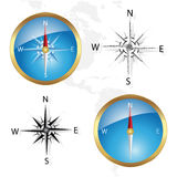 vector Compass Stock Photo